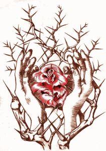 hands-rose-thornbush-twocolor