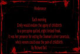 Hinderance by Richard Bell