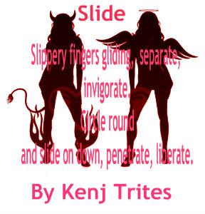 Slide by Kenj Trites