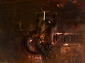 Sane Painting - Insanity by Kim Gauge